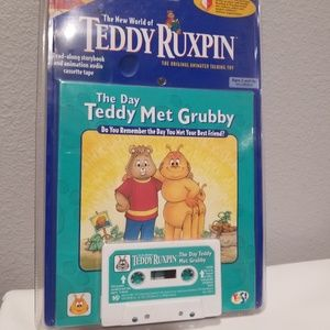1985 TEDDY RUXPIN TAPE The Day Teddy Met Grubby
